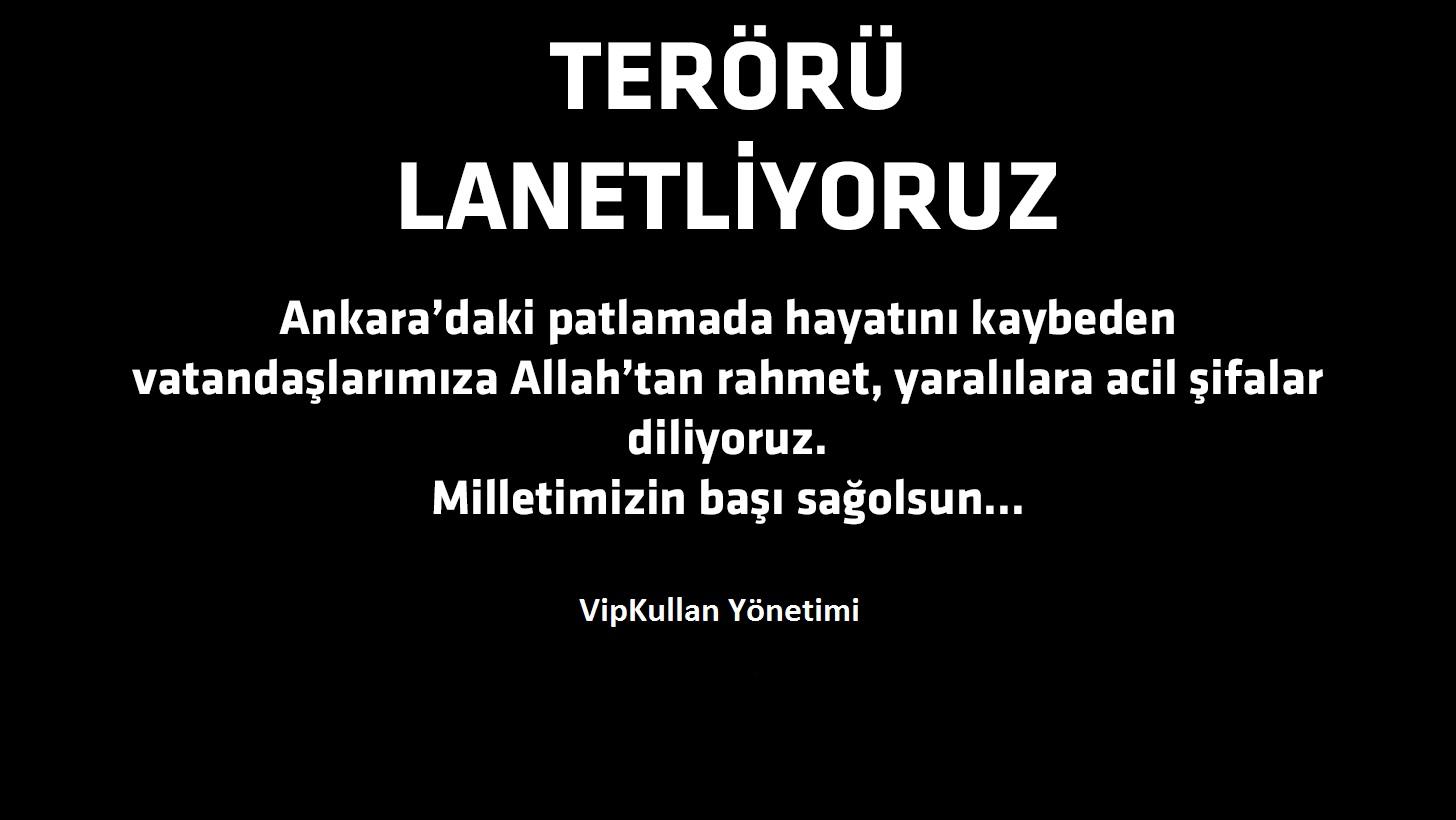 #TERÖRÜ LANETLİYORUZ